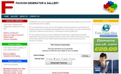 Генератор с галереей